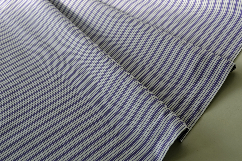 394af00939db Metráž dekorační látka - Bavlna Pruhy fialové