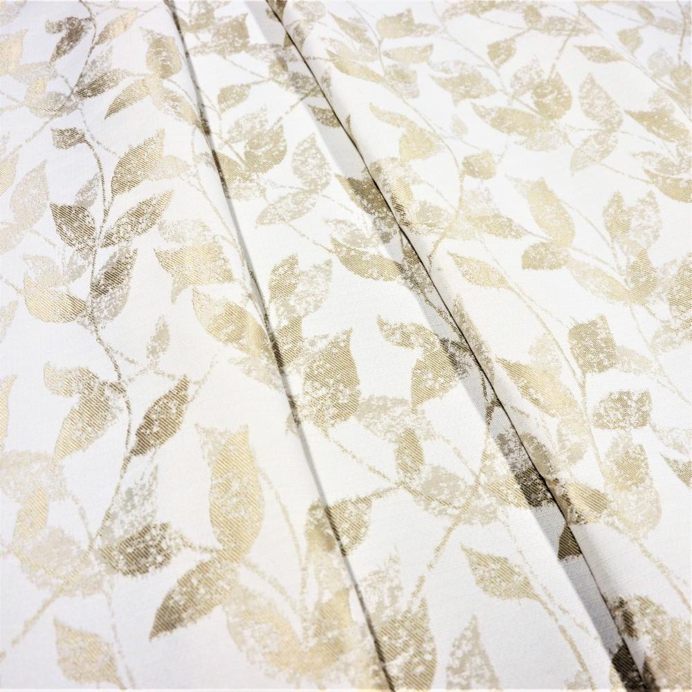 28bb72d280e2 Metráž dekorační látka - Leaf béžová
